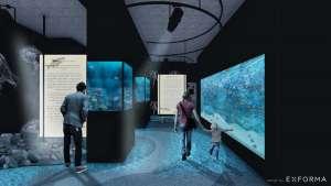 Aquarium Boka, Main hall