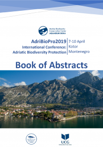 AdriBioPro2019 Book of Abstracts cover page