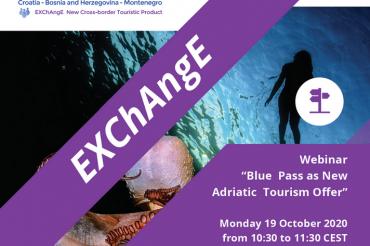"Invitation to Webinar ""Blue Pass as New Adriatic Tourism Offer"""