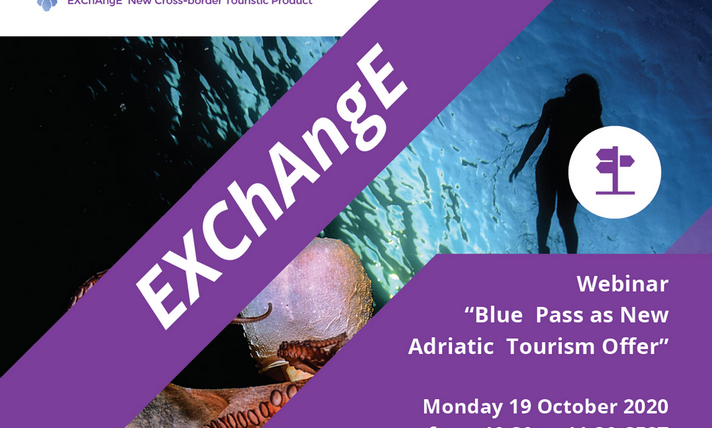 "Invitation to Webinar ""Blue Pass as New Adriatic Tourism Offer"""