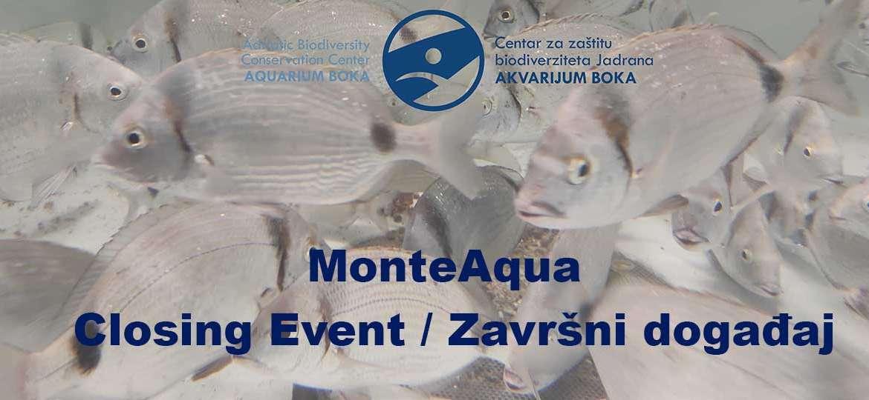 Završni događaj projekta MonteAqua