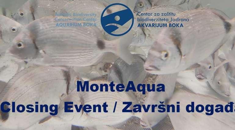 Video snimak završnog događaja projekta MonteAqua